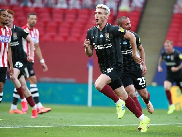 Ryan Watson started the scoring at Wembley