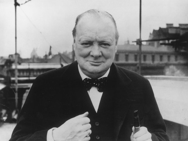 Sir Winston Churchill (library picture)