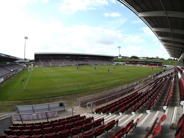 The Cobblers have played all of their matches this season behind closed doors