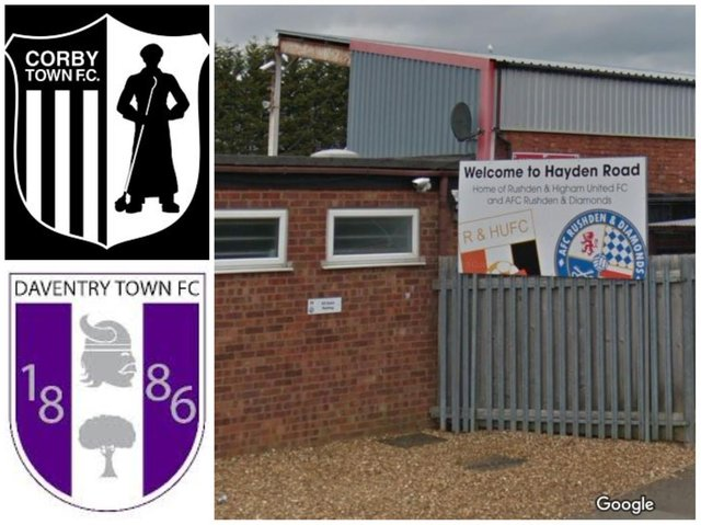 Fans of Northants local football clubs are being asked to stay away from matches