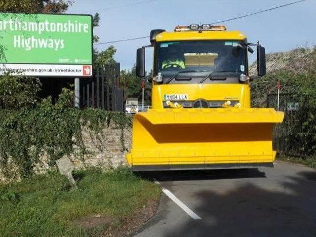 Northants HIghways gritting lorries will get their first run out of the winter tonight