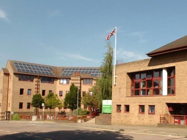 Daventry District Council offices.