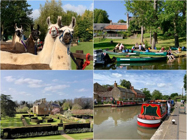 The top outdoor attractions to visit in Northamptonshire this April.