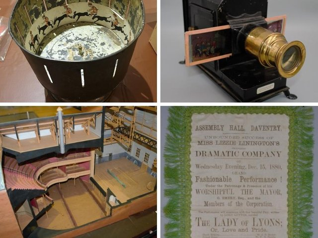 Some of the items in the exhibition.