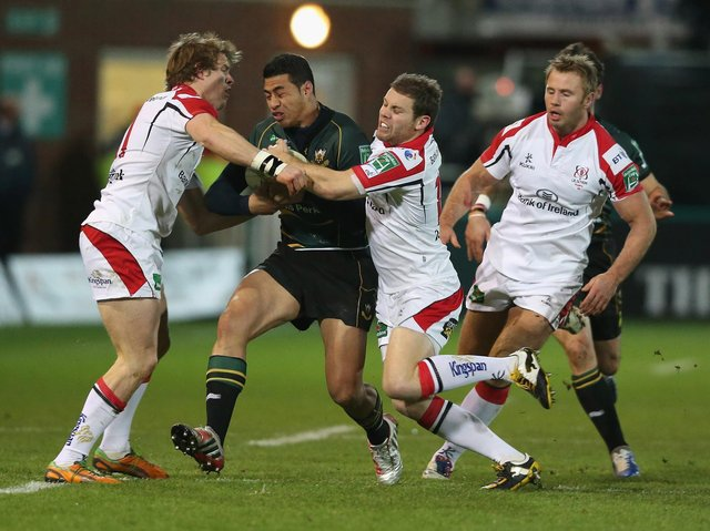 Ulster cruised past Saints when they last travelled to Franklin's Gardens, back in December 2012, but it was a different story in Belfast on the following weekend