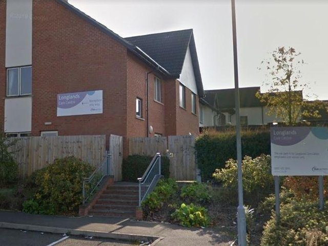Longlands Care Home in London Road, Daventry. Photo: Google