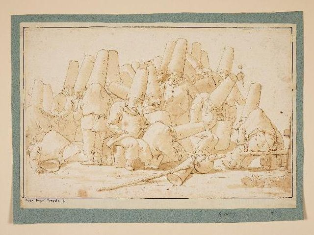 The Old Master Drawing by the Italian artist Giovanni Battista Tiepolo