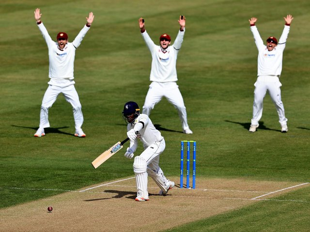 Northants were in the wickets on day one against Kent