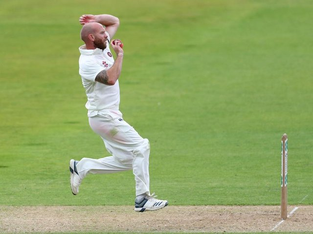 Luke Procter has recovered from a side strain and is in the Northants squad for their trip to Lancashire this week