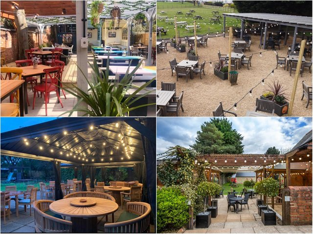 These pub gardens have undergone stunning refurbishments in time to welcome locals back following the easing of lockdown restrictions.