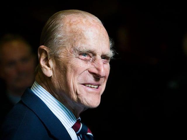 Pince Philip, Duke of Edinburgh.
