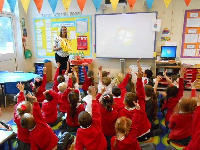 More than 8,400 four and five-year-olds will be starting school in Northamptonshire in September. Photo: Getty Images