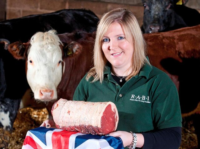 Milly supports Great British Beef Week.