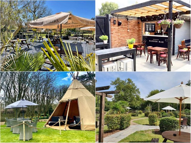 Check out these stylish al fresco dining areas in Northamptonshire.