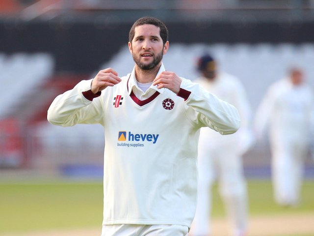 Wayne Parnell was 12th man for Northants in their defeat at Lancashire last weekend (Picture: Peter Short)