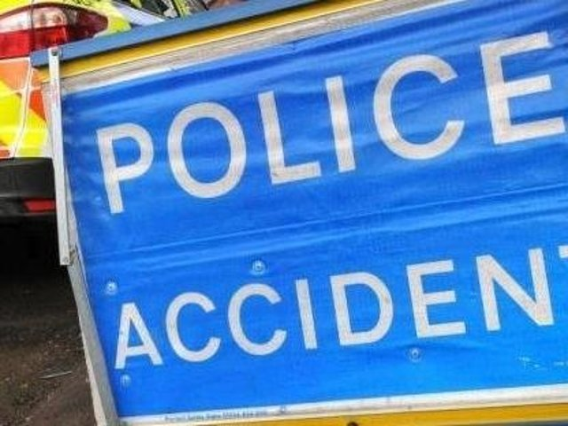 Emergency services are dealing with a four-vehicle pile-up on the M1 on Wednesday morning