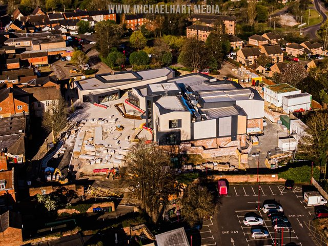 A view of Daventry's new Arc Cinema.