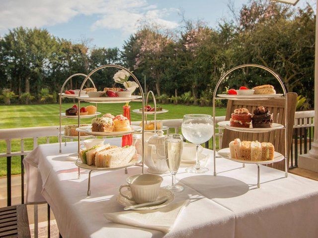 Check out these stylish afternoon teas in Northamptonshire