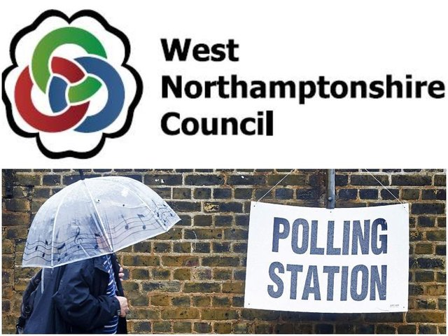 Voters will choose the first ever members of West Northamptonshire Council today (Thursday, May 6)