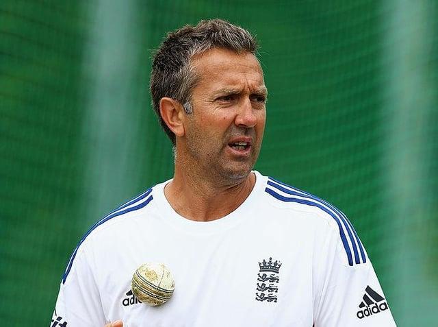 Sussex coach Ian Salisbury