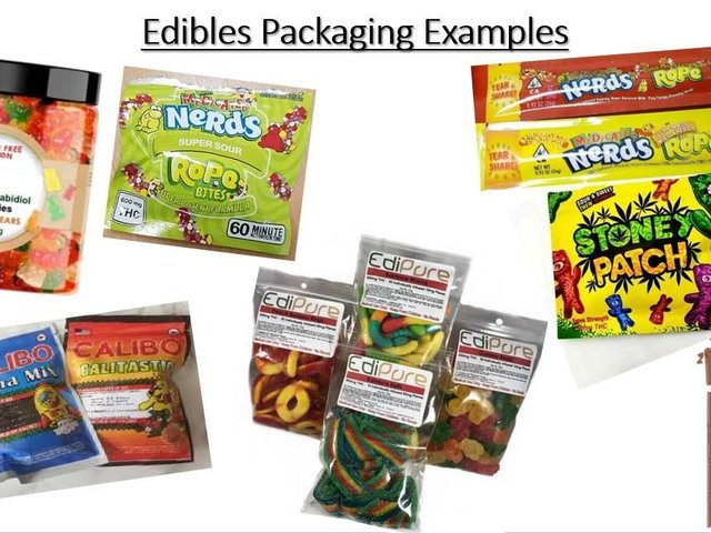 Police are warning parents to look out for THC or CBD on the packaging in their children's sweets. Image: Northamptonshire Police