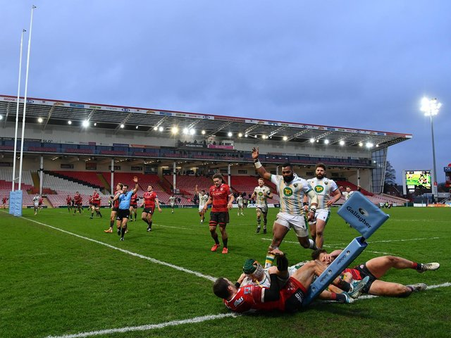 Saints won at Gloucester back in January