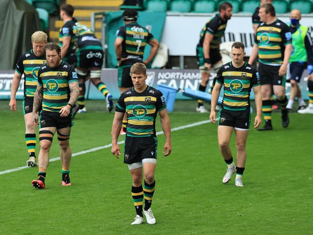 Saints suffered a hugely disappointing defeat to Gloucester