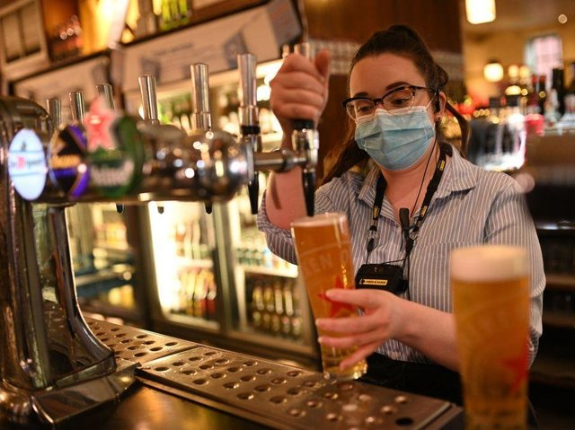 Northamptonshire's pubs are getting ready to fully reopen from Monday for the first time in 15 months.