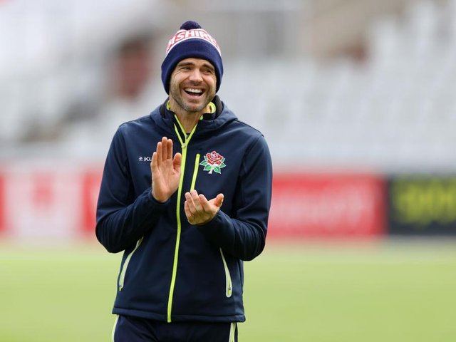 England bowler James Anderson has been named in the Lancashire squad to play Northants at the County Ground