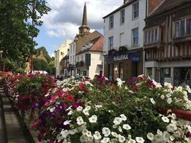 Daventry town centre.