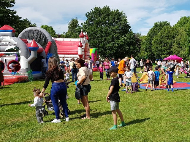 The fun kicks off in Daventry.