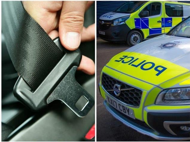 Northamptonshire Police has launched a three-week crackdown on drivers not belting up.