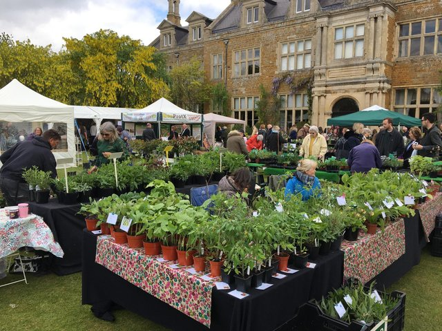 The Home and Garden Fair at Holdenby House.