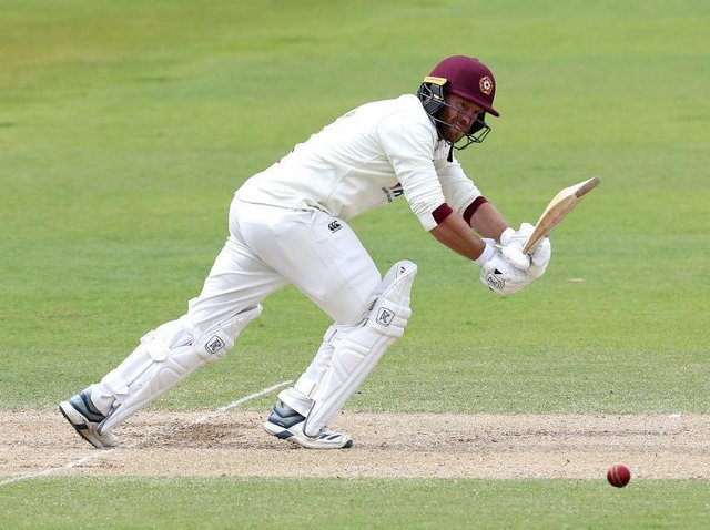 Luke Procter hit 81 as Northants piled on the runs at Canterbury