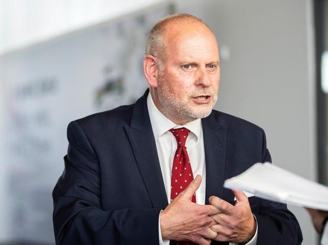 West Northamptonshire Council leader Jonathan Nunn
