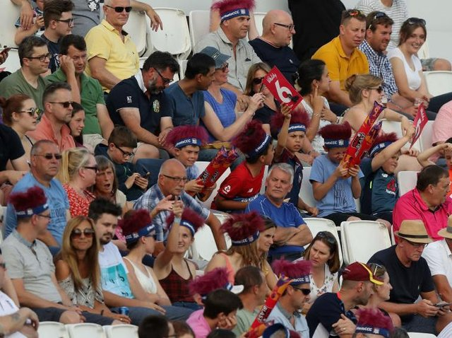 Cricket fans will be back at the County Ground for Friday night's T20 Blast clash against Worcestershire