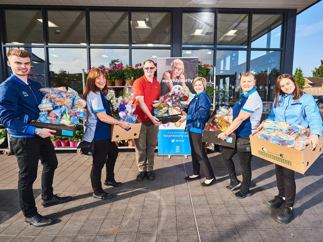 Food donations will help people in Daventry.