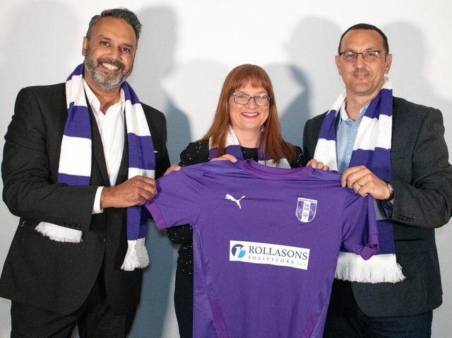 New partnership for Daventry TFC and Rollasons.