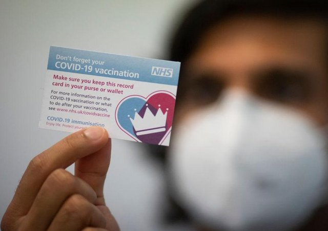 The number of first-dose vaccines delivered has passed half-a-million in Northamptonshire