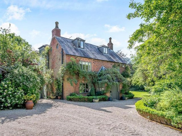 This stunning seven-bed home complete with traditional and contemporary features is up for grabs for offers over 2 million.  Listed by Fine and Country, marketed by Rightmove.