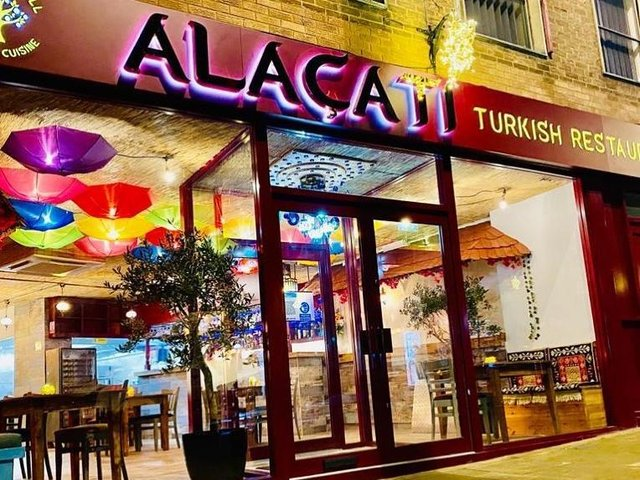 WIn a meal at Alacati.