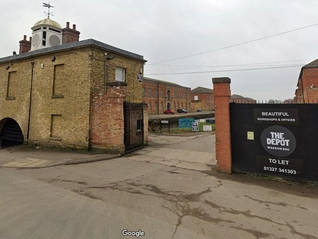 The Depot at Weedon Bec is a former military barracks and store
