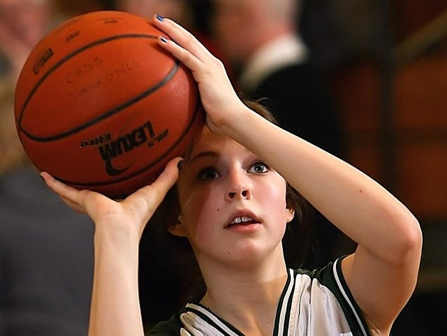 More children in Daventry are taking up basketball.