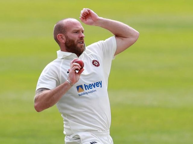 Luke Procter claimed the only two wickets to fall in the day as Northants struggled against Glamorgan