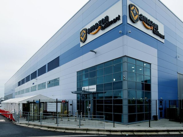 Amazon's fulfillment centre on Royal Oak Way, Daventry