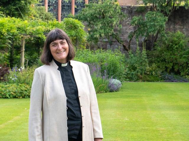 The Rev Canon Sarah Brown.