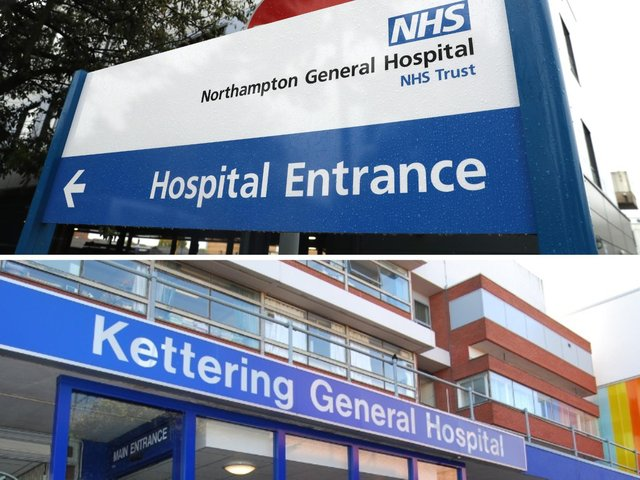 Northamptonshire's two NHS hospitals are treating 24 Covid patients as of today (Friday)
