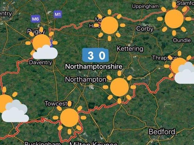 Monday's scorching forecast from @NNweather